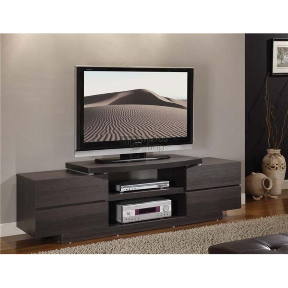 Mic mobilier masa tv marco for Mobilier tv