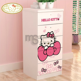 Comoda 5 sertare Hello Kitty