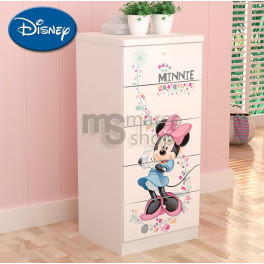 Comoda 5 sertare Minnie Mouse