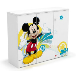Comoda copii 3 usi Mickey Mouse