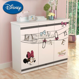 Comoda copii 3 usi Minnie Fashion