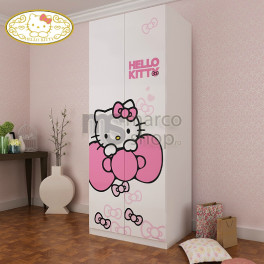 Dulap 2 usi Hello Kitty