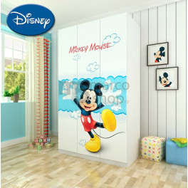 Sifonier copii Mickey Mouse 3 usi
