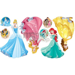 Sticker Disney Princess
