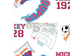 Tapet Mickey Mouse Football